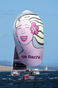Ella Bache Finishing Sydney Hobart