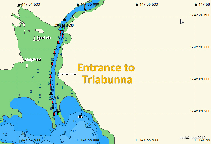 Triabunna entrance