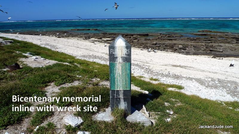Memorial at Wreck Reefs