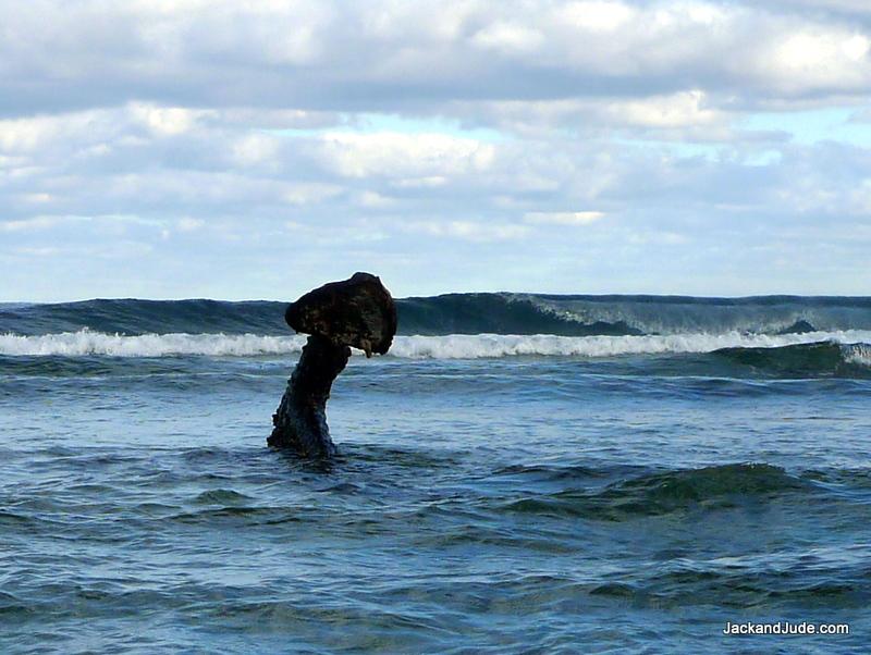 anchor at Kenn Reef
