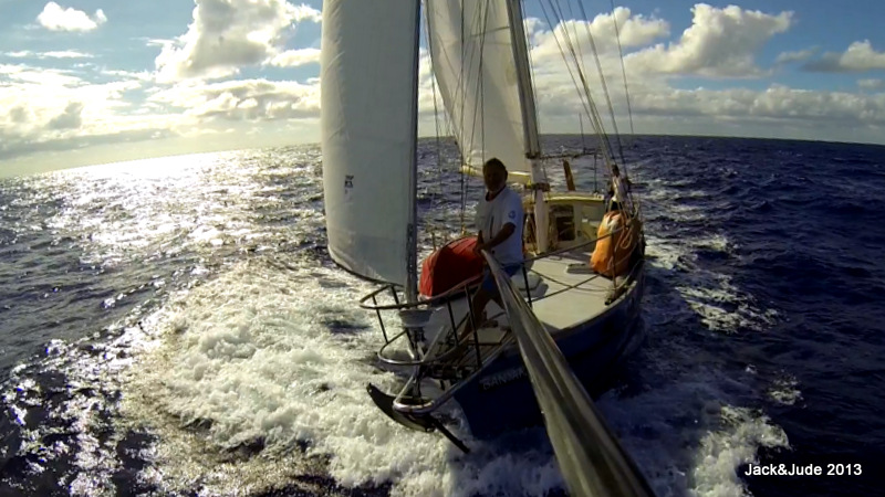 Sailing away from Mellish