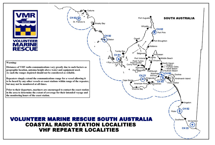 SA VHF coastal_radio_station_map