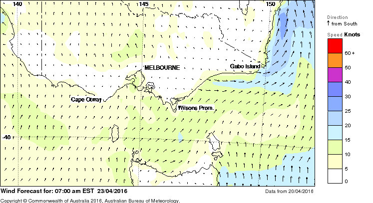 Cape Howe weather
