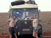 Its dirty work crossing Africa - Would love to be that skinny again!!