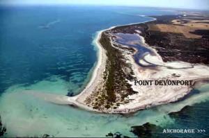 Point Devonport anchorage