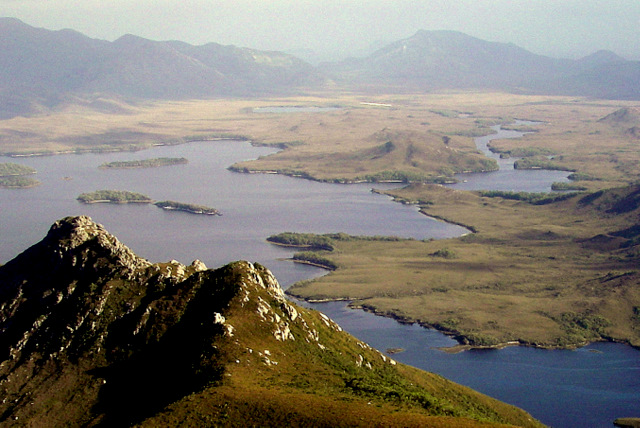 Melaleuca Inlet from Mt Rugby