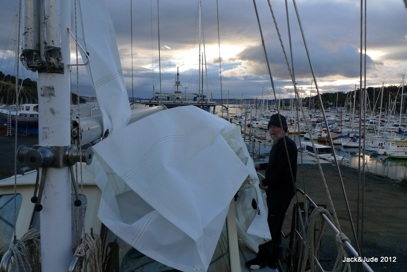 New Mainsail ready to fly free