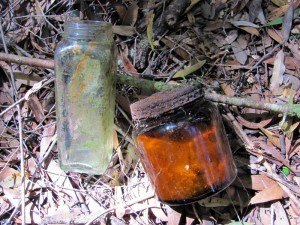 Jars found at Hydro Camp