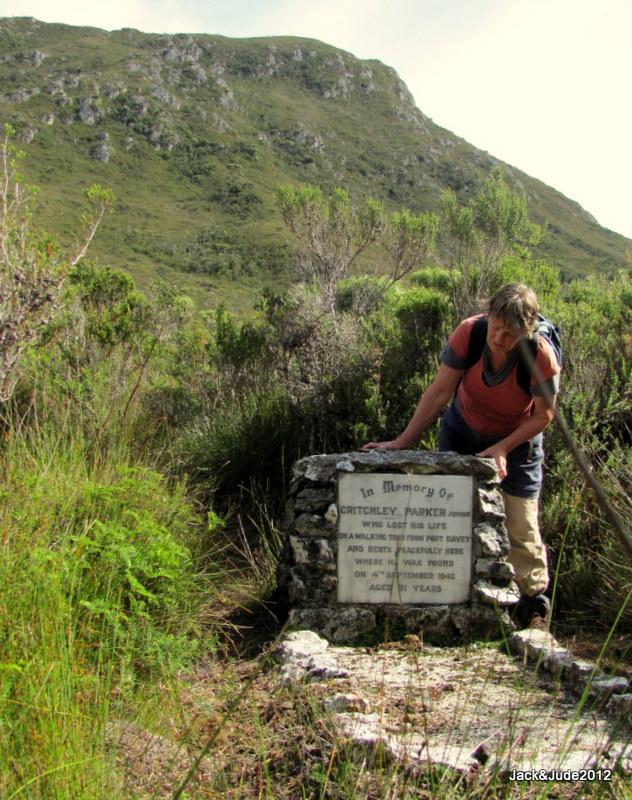 Critchley Parker's Grave