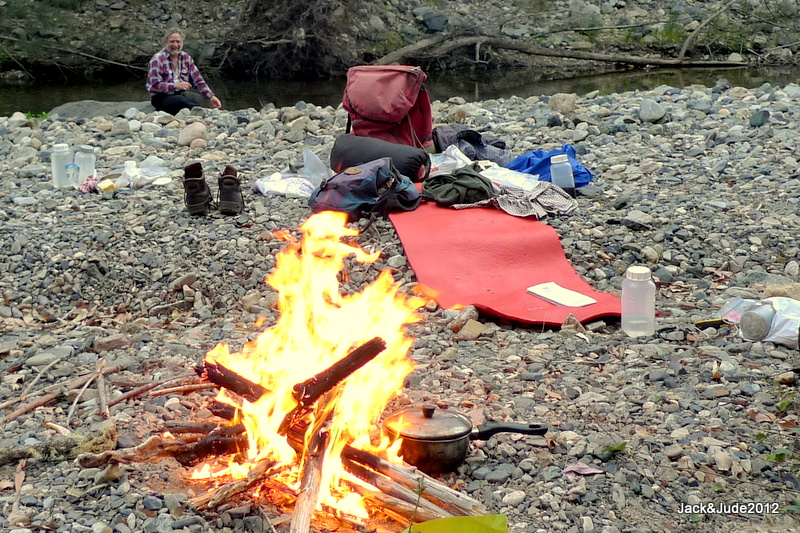Camping at Cooradoral