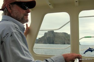 Rounding Tasman Island