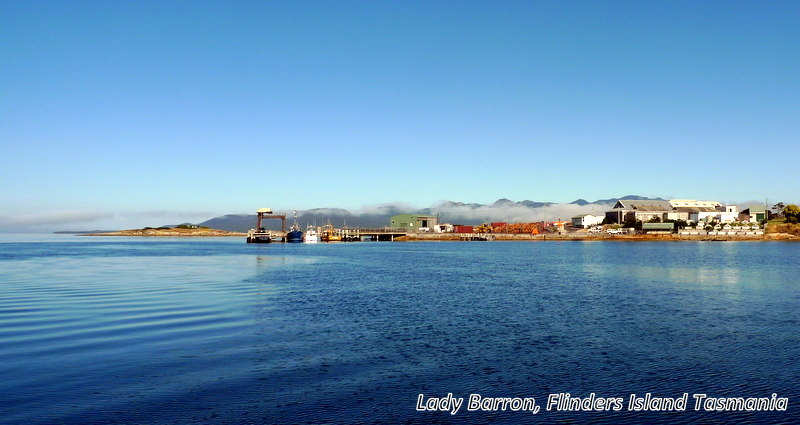 Lady Barron, Flinders Is. Tasmania