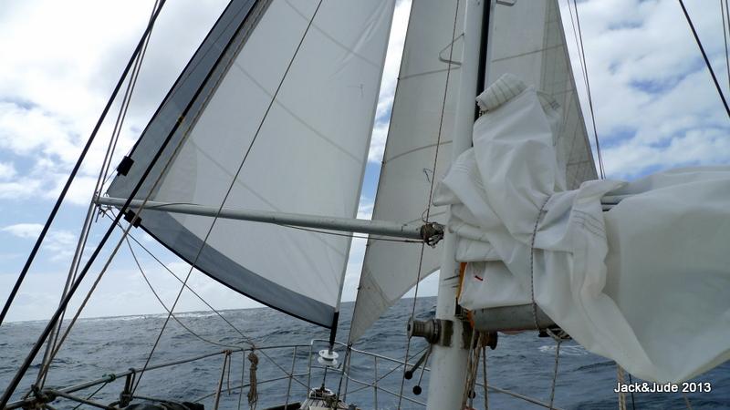 Sailing Wing 'n Wing