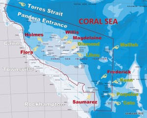 Coral Sea Cruising Guide