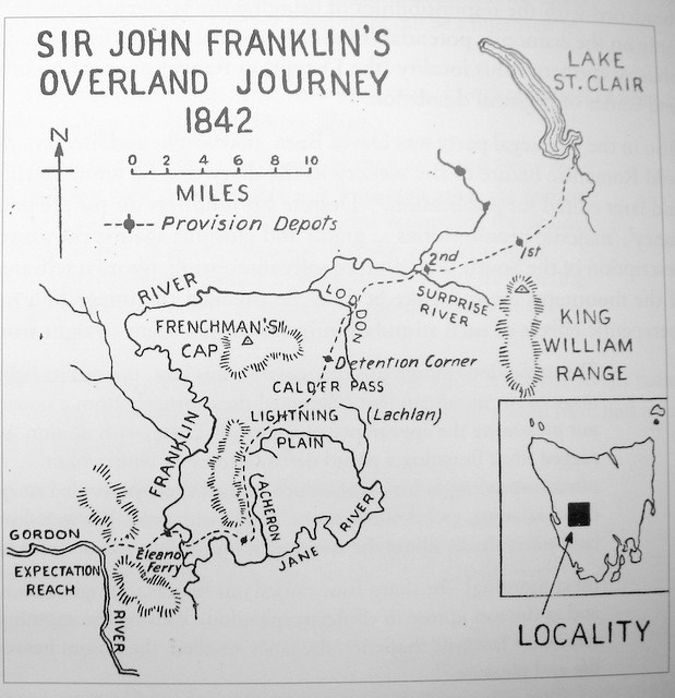 Sir John and Lady Jane Franklin track