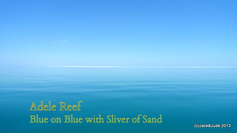 Adele Reef - Blue on Blue world