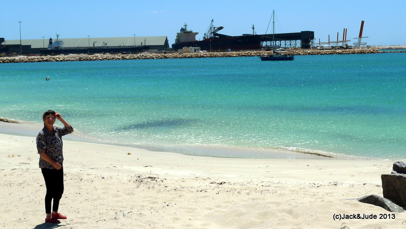 Banyandah anchored at Geraldton