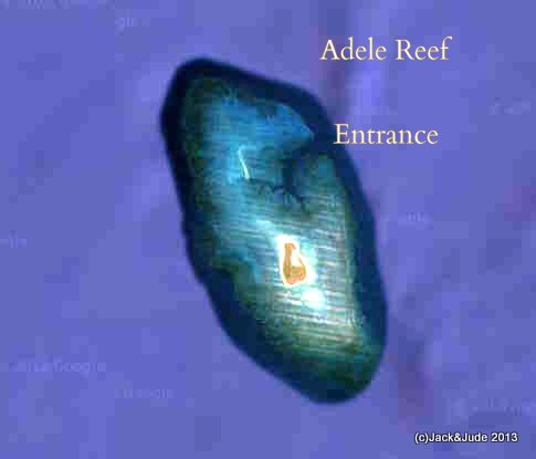 Adele Reef Entrance