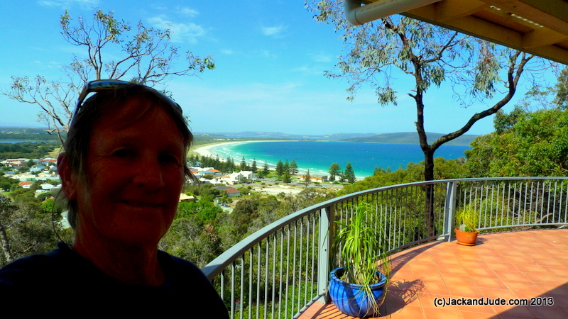 view over Middleton Beach