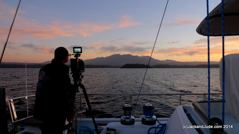 Sunrise on Macquarie Harbour