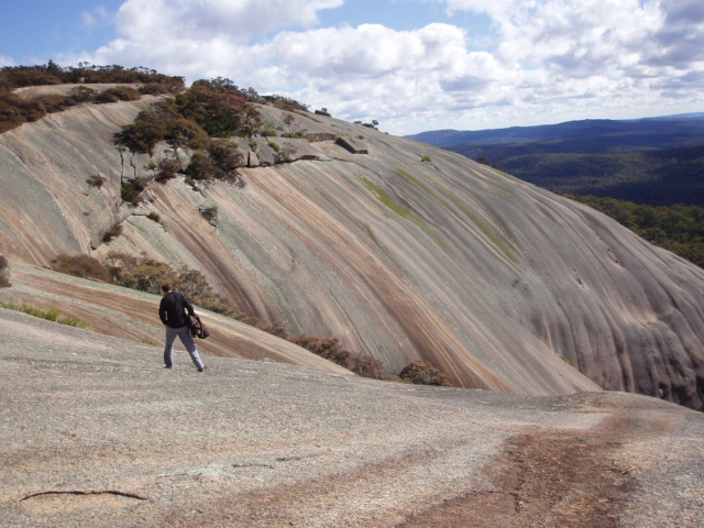 Bald Rock Australia's largest granite tor