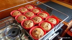 Jude's handiwork - Yummy banana muffins