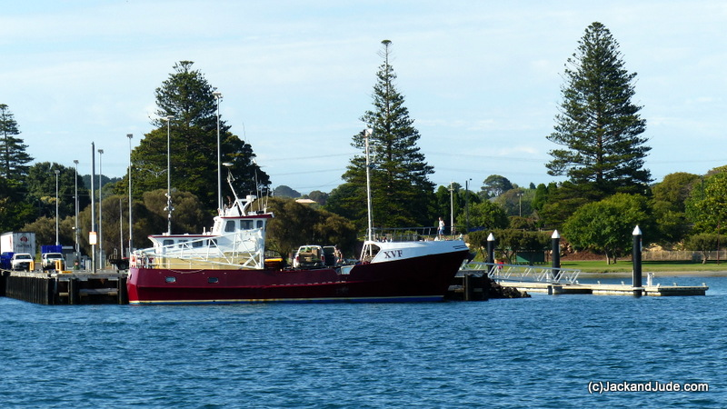 Eumeralla, Garry Kerr's vessel cray fishing southern Tasmania
