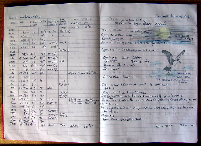 Banyandah's Log Book