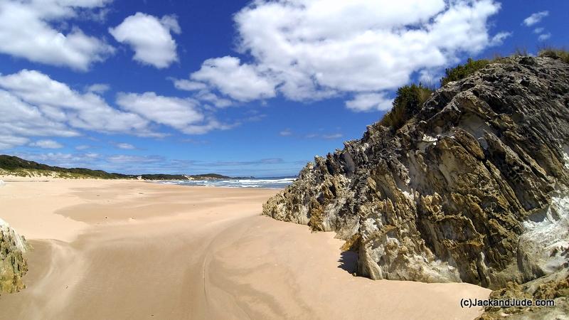 Tassie's west coast in perfect weather