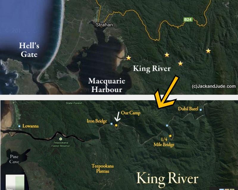 king maps