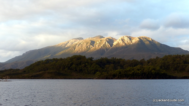 Our DVD Tasmania 1 features climbing to Mount Sorell's peaks
