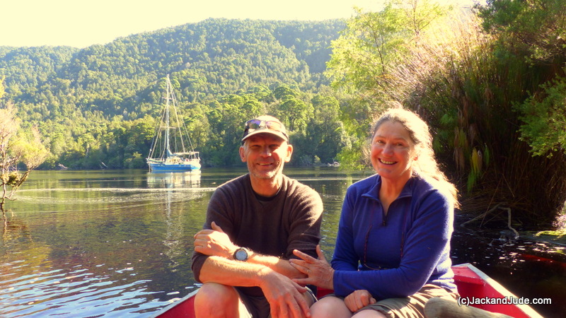 David and Judith at Little Eagle Creek