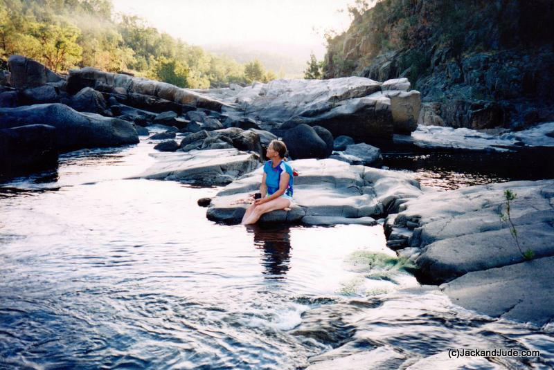 Sublime moment Namoi River 1999