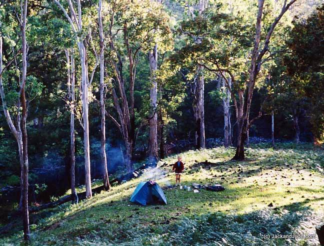 Camp alongside the Cooradoral