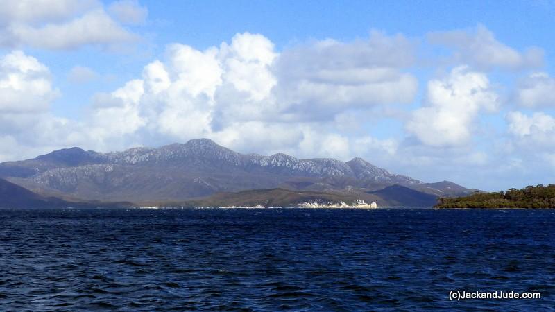 Erskine Range opposite Bond Bay