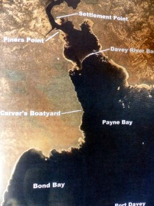 "map from ""The Huon Pine Story"""