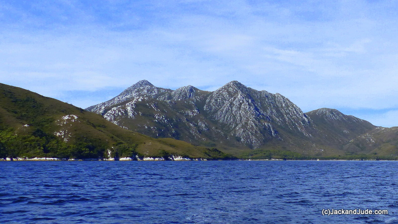 Mt Misery entering Bathurst Harbour
