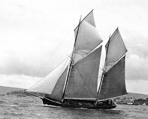 May Queen under sail