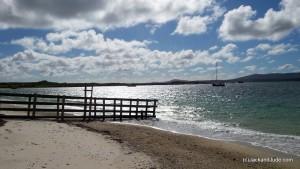 Home Bay anchorage