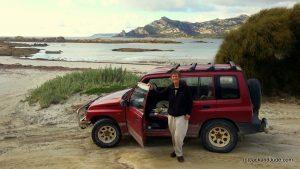 Touring Flinders at Killiecrankie