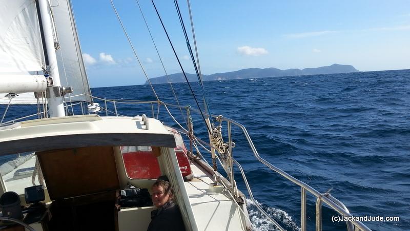 Deal Island ahead