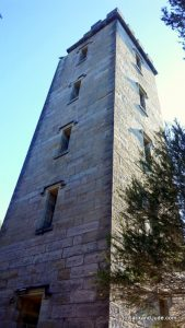 Boyds Tower used for whale spotting