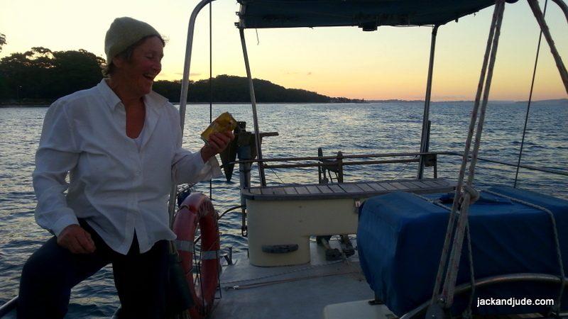 anchorage at Duchess Beach