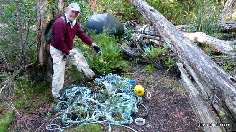 Macquarie Harbour Clean up fish farm refuse
