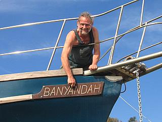 Banyandah nameplate re-attached