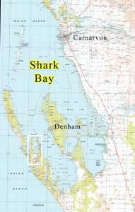 map of Useless Inlet Shark Bay WA