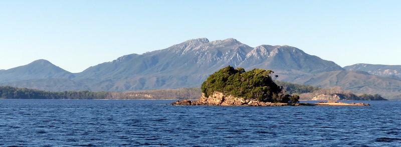 Grummet Island with Mt Sorell