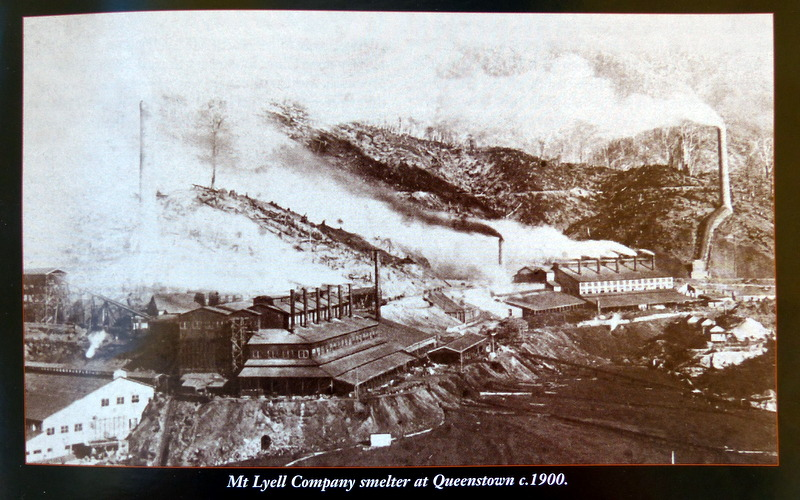 Trees were felled to fuel the smelter