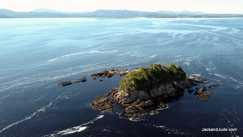 Grummet Island – The original 8 women convicts were kept in a cave here away from the men
