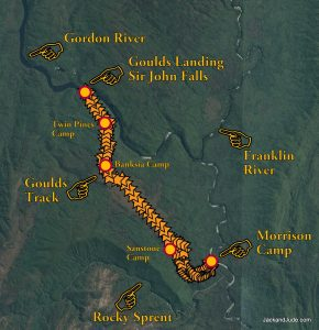 Gould Track Map